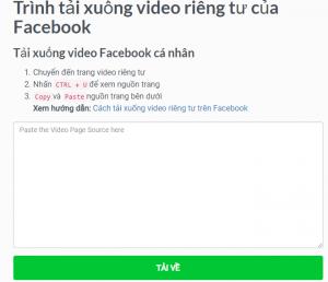 Tải ngay mọi videos Facebook với tiện ích getfvid tích hợp trong Google chrome