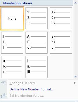 MS Word - Bài 15: Tạo số thứ tự tự động