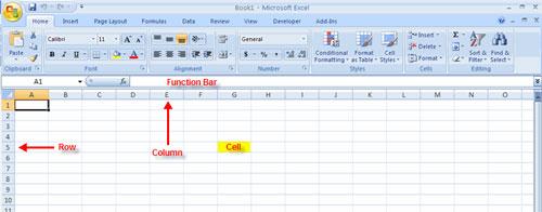 MS Excel 2007 - Bài 1: Bắt đầu Microsoft Excel 2007