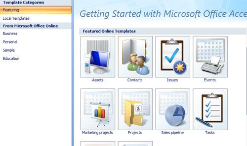 MS Access - Bài 4: Tạo cơ sở dữ liệu mới