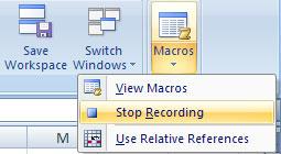 MS Excel 2007 - Bài 7: Tạo Macros trong Excel 2007