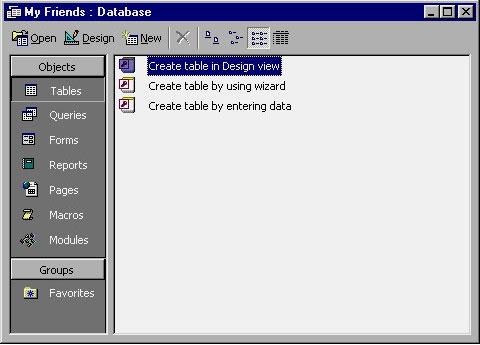 MS Access 2003 - Bài 6: Tạo bảng trong Access