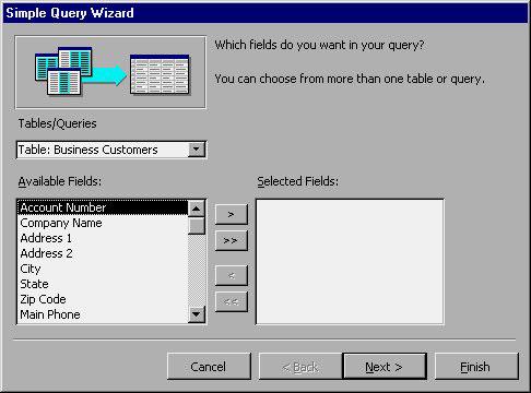 MS Access 2003 - Bài 22: Sử dụng Query Wizards