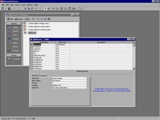 MS Access 2003 - Bài 7: Nhập thông tin cho bảng