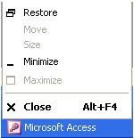 MS Access 2003 - Bài 4: Thoát khỏi Access