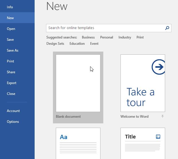 Hướng dẫn toàn tập Word 2016 (Phần 2): Làm quen với OneDrive, tạo, lưu và chia sẻ tài liệu