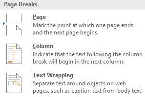 Hướng dẫn toàn tập Word 2016 (Phần 12): Cách ngắt trang, chia phần
