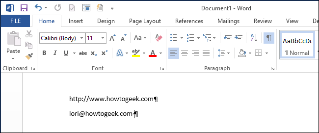 Cách xóa link, remove Hyperlink trong Word