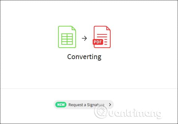 Cách đơn giản để chuyển file Excel sang PDF