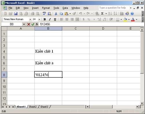MS Excel 2003 - Bài 1: Làm quen với Microsoft Excel