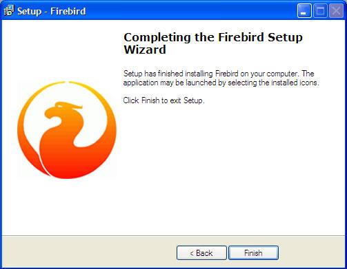 Phát hành Hệ quản trị CSDL Firebird 2.5