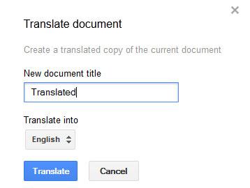 Một số thủ thuật khi dùng Google Docs