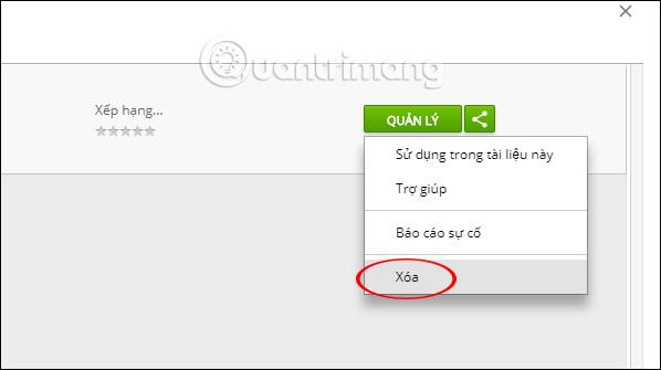 Hướng dẫn cài tiện ích trên Google Docs