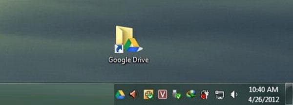 Thiết lập Google Drive thành thư mục trên Windows