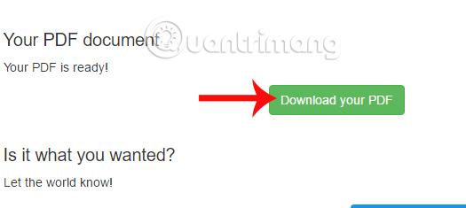 Cách chuyển file ảnh JPG sang file PDF trực tuyến