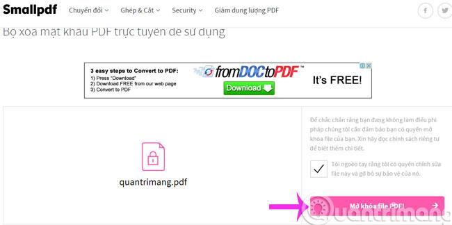 5 công cụ trực tuyến giúp gỡ bỏ giới hạn file pdf