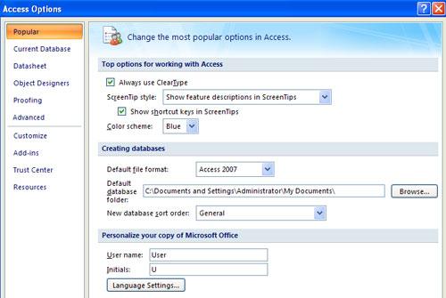 MS Access - Bài 2: Customize Access