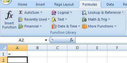 MS Excel 2007 - Bài 6: Tính toán trong Excel