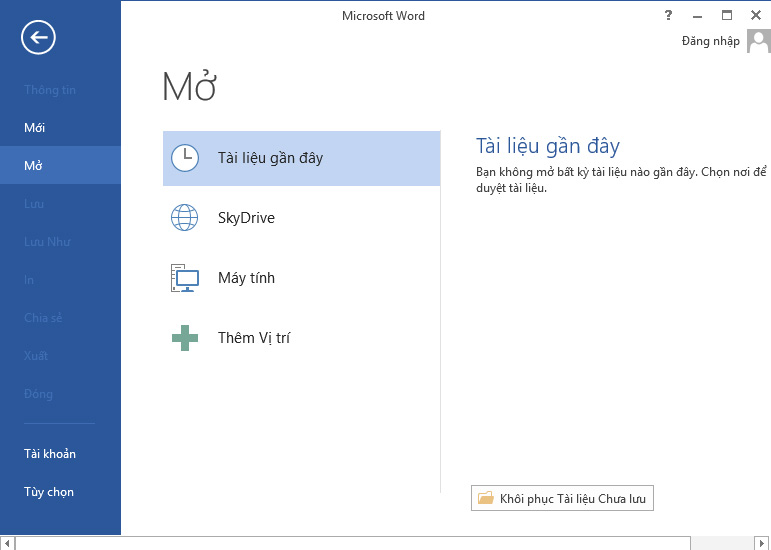 Cách cài đặt Tiếng Việt cho bộ Microsoft Office 2013