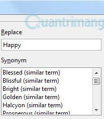 Thủ thuật sử dụng OpenOffice để tạo bộ từ điển
