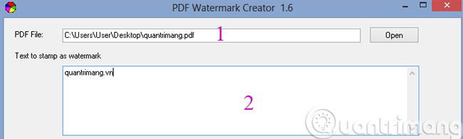 Cách đóng dấu bản quyền cho file PDF