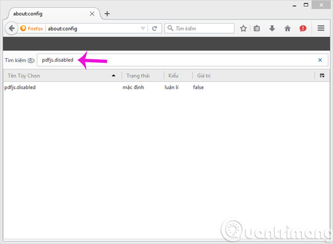 Vô hiệu hóa tính năng tự đọc file PDF trong Firefox và Chrome