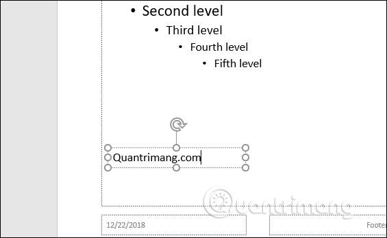 Cách tạo Watermark trên PowerPoint