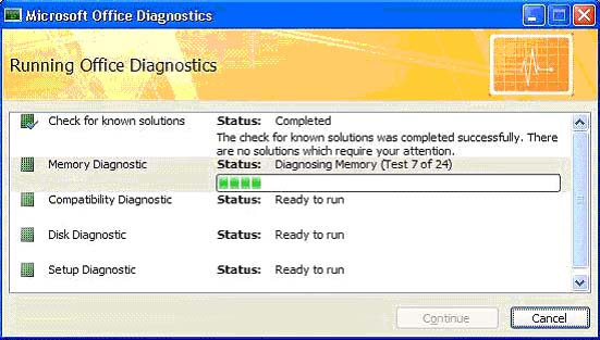 Cách khắc phục lỗi trong Microsoft Word 2007
