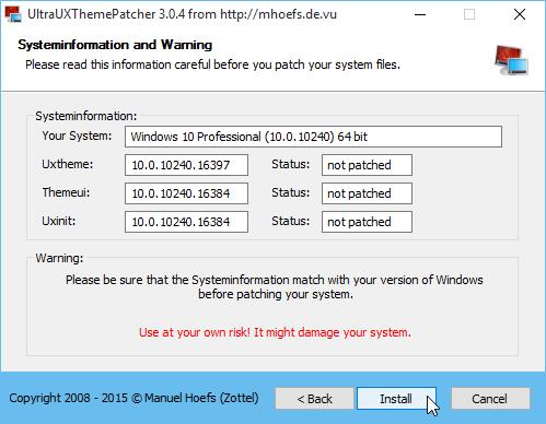 Hướng dẫn cài đặt bộ theme từ bên thứ 3 trên Windows 10 2