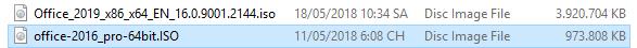 Tải bộ Office 2016 chuẩn phiên bản 32 bit và 64 bit