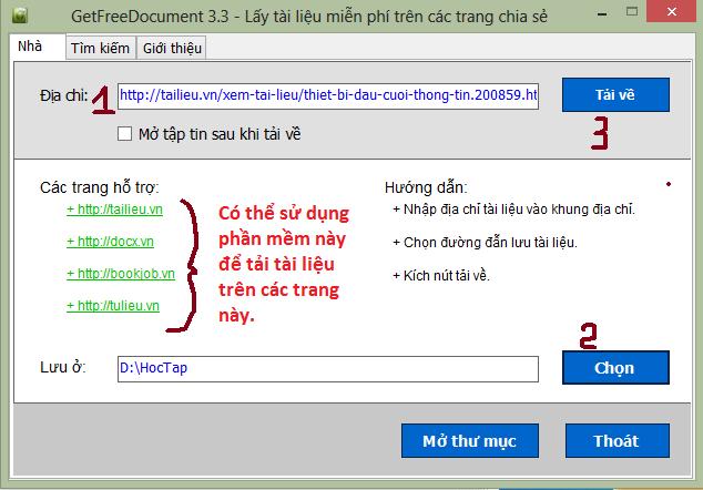 Chia sẻ cách lấy tài liệu trên trang Tailieu.vn và các trang chia sẻ khác. 3