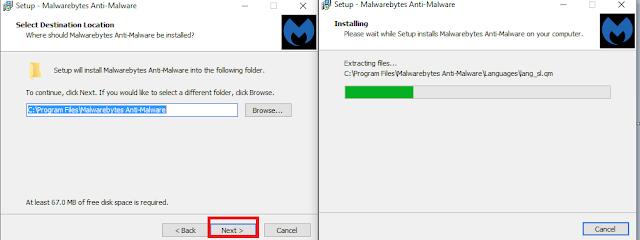 Bảo vệ máy tính miễn phí lướt web an toàn với Malwarebytes Anti-Malware