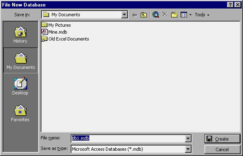 MS Access 2003 - Bài 5: Chương 2: Học Access trong 1 giờ