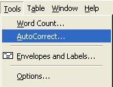 Sao lưu AutoCorrect trong Microsoft Office