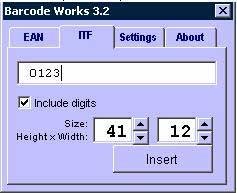Barcode Works v3.2 - Add-ins chèn mã vạch trong MS Word