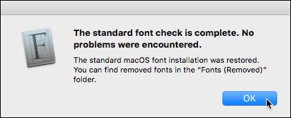 Cách cài đặt và xóa bỏ font chữ trên Mac
