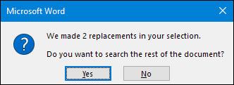 Cách tìm và xóa 2 dấu cách trống trong Microsoft Word