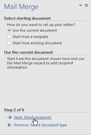 Hướng dẫn toàn tập Word 2016 (Phần 28): Cách trộn văn bản, trộn thư Mail Merge