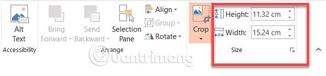 Cách cắt ảnh sử dụng Microsoft PowerPoint