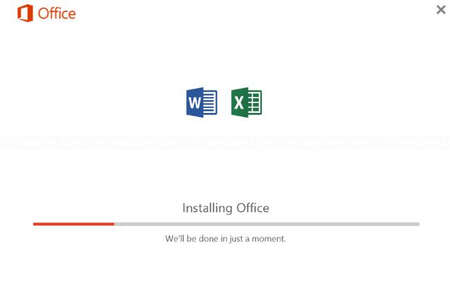 Cách để chỉ cài Word, Excel trong bộ Office 2016