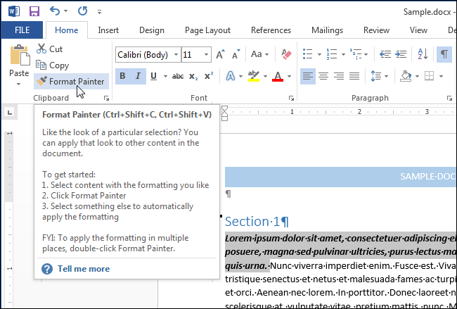Thủ thuật sao chép định dạng đoạn văn bản nhanh và hiệu quả trong Word