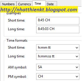 Thay đổi hiển thị kiểu giờ 12 hoặc 24 bên góc phải máy tính 3