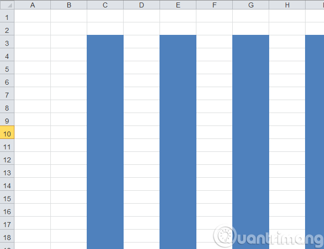 4 bước cơ bản để tô màu cột xen kẽ trong Microsoft Excel