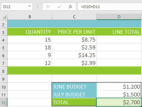 Hướng dẫn toàn tập Excel 2016 (Phần 13): Giới thiệu về công thức
