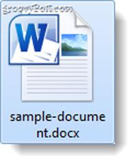 Chuyển đổi định dạng văn bản OpenOffice ODT thành Microsoft Word DOC