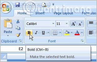 MS Excel 2007 - Bài 15: Định dạng văn bản