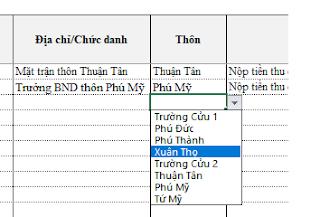 Quản lý thu công quỹ xã phường bằng Excel [Nhatthiekt.net]