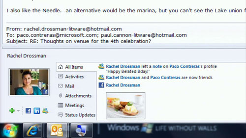 Sử dụng Facebook với Microsoft Outlook