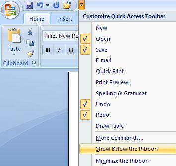 MS Word - Bài 1: Bắt đầu với Microsoft Word 2007