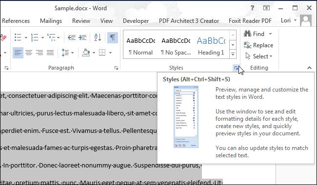 Thủ thuật xóa định dạng Formatting đoạn văn bản trong Word